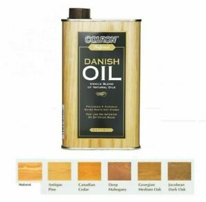 Colron Refined Danish Oil Interior & Exterior Wood Blend of Natural Oils - 500ml