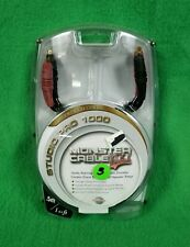 Monster Studio Pro 1000 Speaker Cable .5m 1.64' ProLink