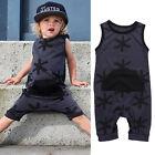 Enfants Bébé Fille Garçon Vêtements Sans Manche Body Combinaison Grenouillère