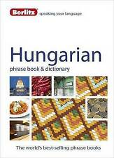 Berlitz Language: Hungarian Phrase Book & Dictionary by Berlitz (Paperback, 2014)