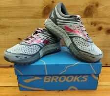 Brooks Women's Ariel 18 Wide Size: 9.0 Color: Grey/Grey/Pink Style#120271