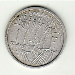 REUNION 1 FRANC ALU  1948