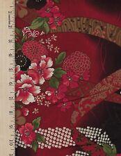 HANA 341 D P&B   100% Cotton Fabric priced by 1/2 yd