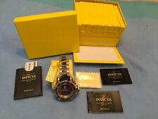 Invicta Men's 6633 Russian Diver Collection Chronograph 18K Gold-Plated Black