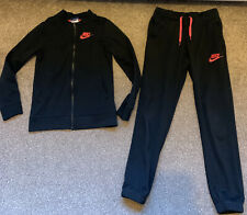 Girls Nike Tracksuit Small Fit