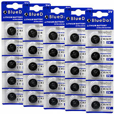 25 pcs CR1632 CR 1632 3V Lithium Coin Cell Button Battery Batteries ~USA SHIPPER