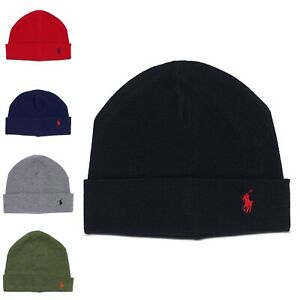 NWT Men's Polo Ralph Lauren Thermal Beanie MSRP $45
