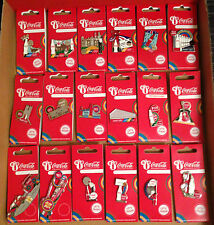 LONDON 2012 OLYMPICS COCA COLA 100 DIFFERENT PIN BADGES