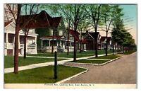 1909 Fillmore Avenue looking East, East Aurora, NY Postcard *6O2