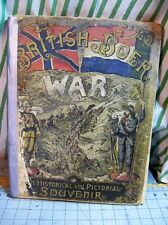 British-Boer War An Historical and Pictorial Souvenir 1900, Israel Smith Clare