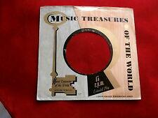 "MUSIC TREASURES~N-1~ VINTAGE ORIGINAL ~ RECORD COMPANY SLEEVE ~ 7"" SINGLE 45 RPM"