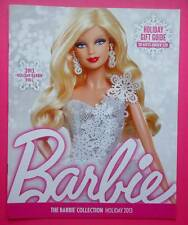 Barbie Collection Holiday 2013 Catalogue/Catalog~New