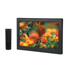 "12"" TFT LCD HD 1366X768 VGA AV HDMI TV Monitor Built-in Loudspeaker For CCTV PC"