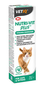 Vetiq Vitamin & Mineral Supplement Cats Nutri-Vit Plus Paste Kittens 70g