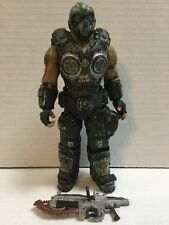 Gears of War 3 Series 1 Clayton Carmine Gold Variant Loose Complete NECA 2011