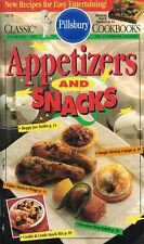 Pillsbury APPETIZERS & SNACKS Classic Cookbook #155 Mexican Snack Squares & More