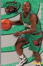 CARD N°340 BASKET=GREG ANTHONY (VANCOUVER GRIZZLIES)=NBA 95/96 FLEER=CM 8,9X6,4
