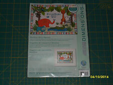 Dimensions MODZOO BIRTH RECORD Counted Cross Stitch - NEW IN PKG - Item 73508