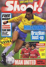 MIRANDINHA / LINEKER / MARADONA / MAN UTDShoot 29Aug1987