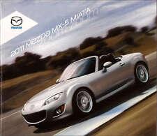2011 11 Mazda MX5 Miata  Series Original sales brochure MINT