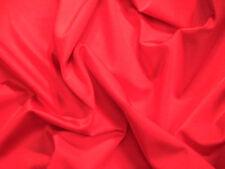 Red Lycra/Spandex Strech Dance/Dress/Sport Fabric 150cm Wide FREE P+P