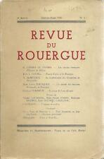 REVUE DU ROUERGUE 1950 ALBENQUE BOUSQUET LOUBIERE...