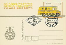 Poland postmark POZNAN - road safety