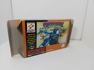 Sunset Riders - PAL  - Super Nintendo  - SNES - Only Box