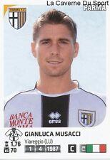 GIANLUCA MUSACCI # ITALIA PARMA.FC RARE UPDATE STICKER CALCIATORI 2012 PANINI