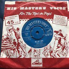 "New listing Alma Cogan - We Got Love / I Don't Mind Being All Alone HMV 1959 7"" Single"
