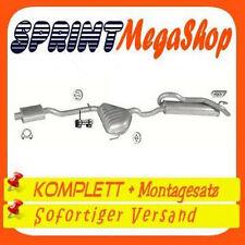 Auspuff Fiat Marea / Marea Weekend 1.8 16V 83 KW 1996-2001 Abgasanlage 0220