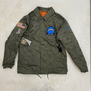 Nike Sideline Repel NFL L.A. Chargers Camouflage [Mens Sz L] Jacket NEW