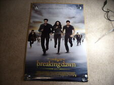 Twilight Breaking Dawn Part 2 MOVIE POSTER DS Variant 27x40 Authentic