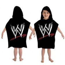 Character World WWE Black Hooded Towel Poncho 50x115cm