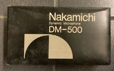 Nakamichi DM-500 Microphone BRAND NEW In Original Case