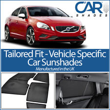 Volvo S60 4dr 2010 On UV CAR SHADES WINDOW SUN BLINDS PRIVACY GLASS TINT BLACK