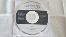 Application and Driver Recovery DVD