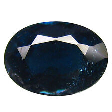 """0.92Ct """"GIL"""" CERTIFIED 100% AMAZING BLUE SAPPHIRE #17"""