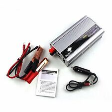 800W DC12V AC 110V USB Portable Universal Car Inverter Adapter Converter CAM DVD