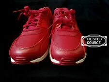 Nike Air Max 90 Premium Red Running Sample Shoes Sneakers Sz 9 700155-602 NWOB