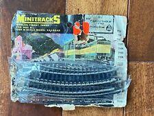 "Minitrains Minitracks #2121 HOn3 7"" curved track (7 track sections)"