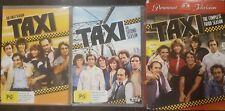 TAXI THE COMPLETE FIRST SECOND THIRD SEASON RARE DVD TV SERIES 1 2 3 BOX SET OOP