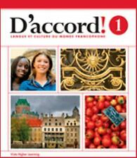 D'accord: Level 1 Cahier d' exercices (French Edition)