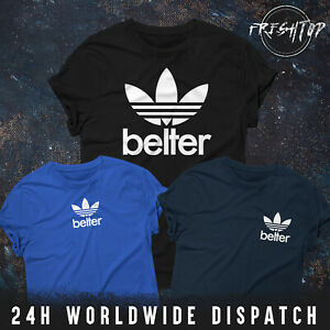 Belter Logo T Shirt Gerry Cinnamon Small Big Pocket Logo Scotland