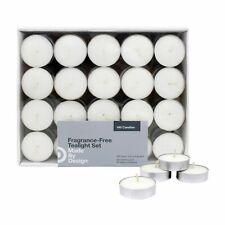 100 Unscented Tealight Candle Set Design