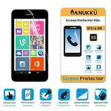 3x PELLICOLA per Nokia Lumia 530 FRONTE + PANNO PROTETTIVA DISPLAY