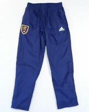 Adidas MLS Real Salt Lake Blue Rain Track Pants Fully Lined Mens RSL L LG PANT