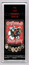 BRONCO BILLY movie poster WIDE FRIDGE MAGNET - CLINT EASTWOOD 80's CLASSIC