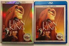 DISNEY THE LION KING BLU RAY DVD 2 DISC SLIPCOVER SLEEVE SIGNATURE COLLECTION