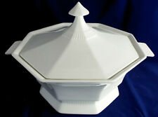 Independence Ironstone White Castleton Round Serving Bowl 9 Excellent